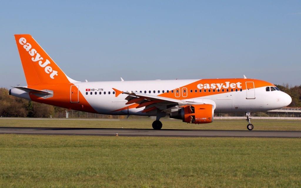 Easyjet Airbus A319 Landung