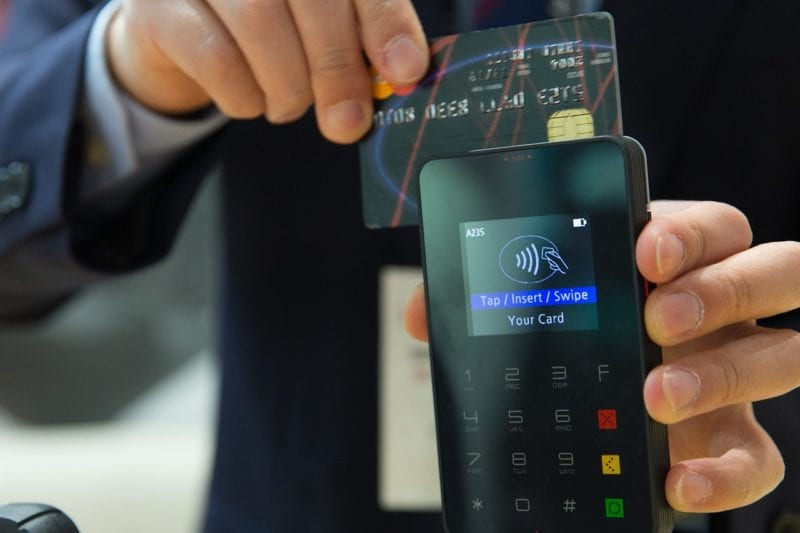 Kreditkartennummer Sicherheitscode Zahlung Im Laden