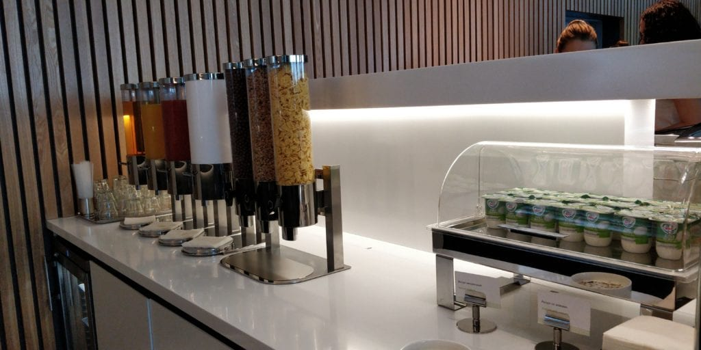 S7 Lounge Moskau Buffet 4