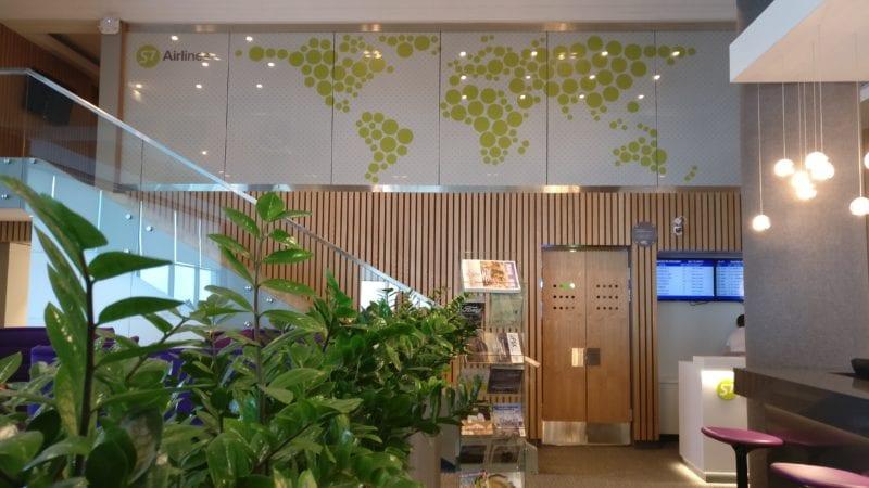 S7 Lounge Moskau Eingang Treppe