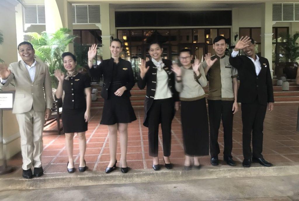 Sofitel Angkor Resort Abschied