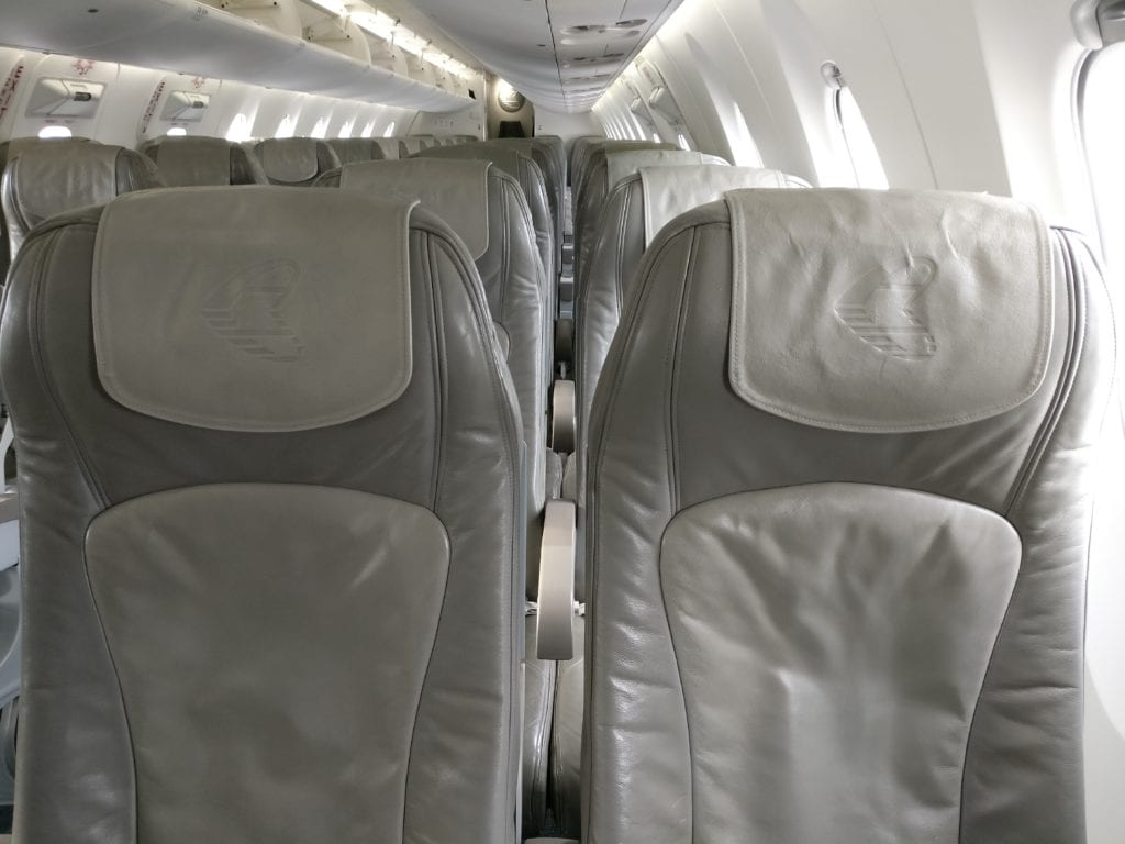 Adria Airways Economy Class Sitz 2
