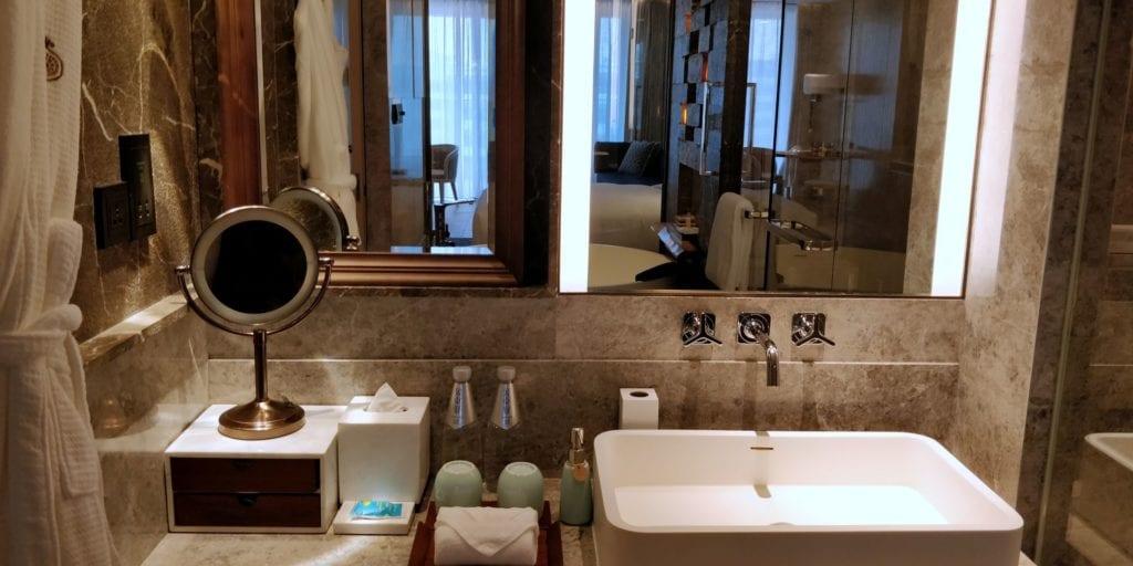 Anandi Hotel Shanghai Bad 4
