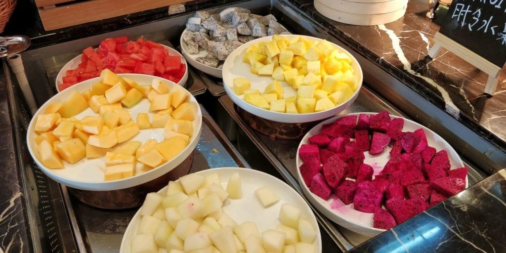 Anandi Hotel Shanghai Frühstück 4