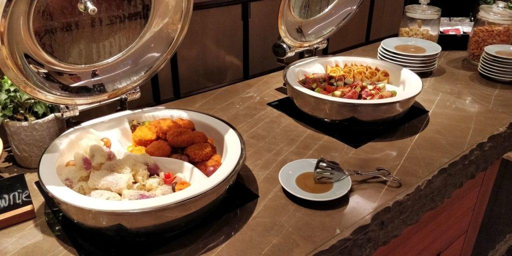 Anandi Hotel Shanghai Lounge Abendessen