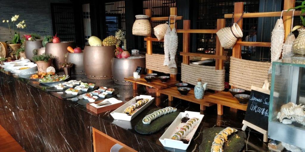 Anandi Hotel Shanghai Lounge Abendessen 2