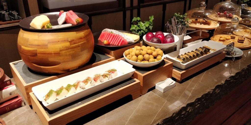 Anandi Hotel Shanghai Lounge Abendessen 3