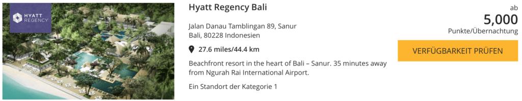 Hyatt World Bali