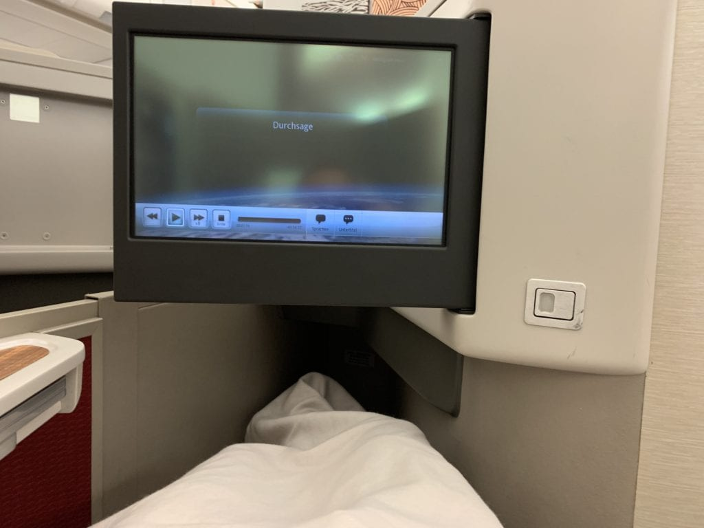 Cathay Dragon First Decke