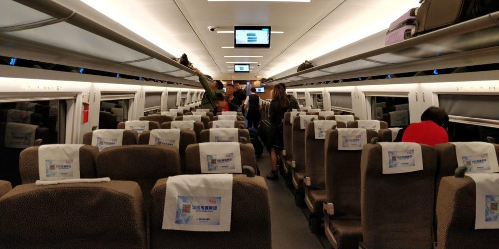 China Schnellzug Wagen 2