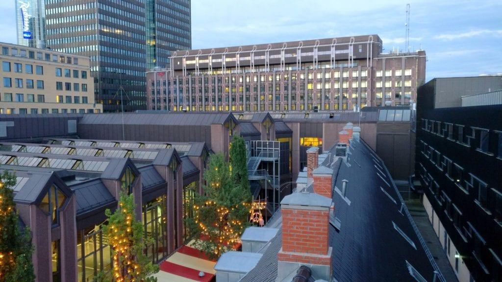 Comfort Hotel Oslo Grand Central Ausblick