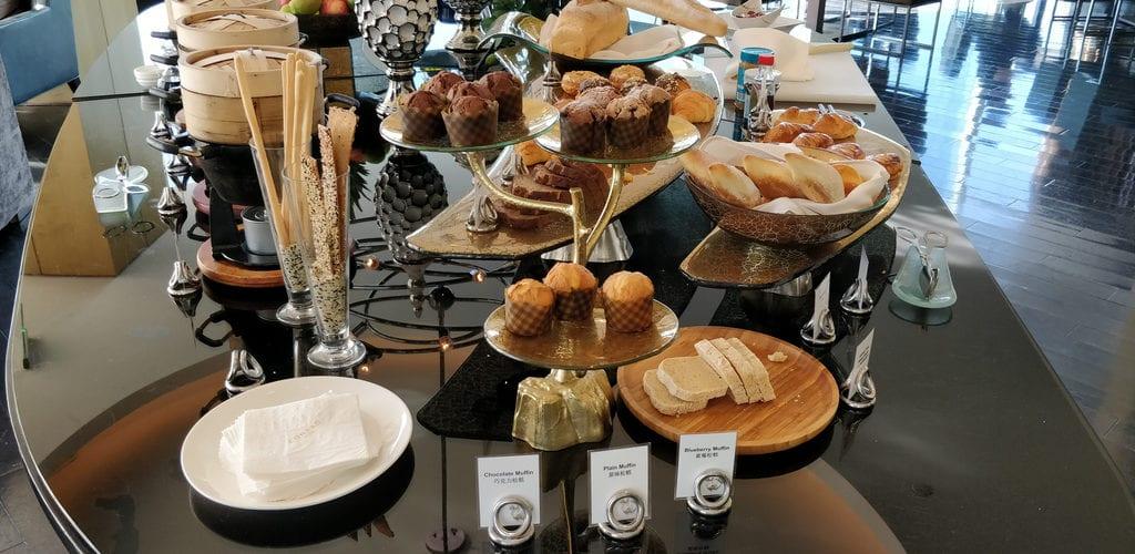 Conrad Peking Executive Lounge Frühstück