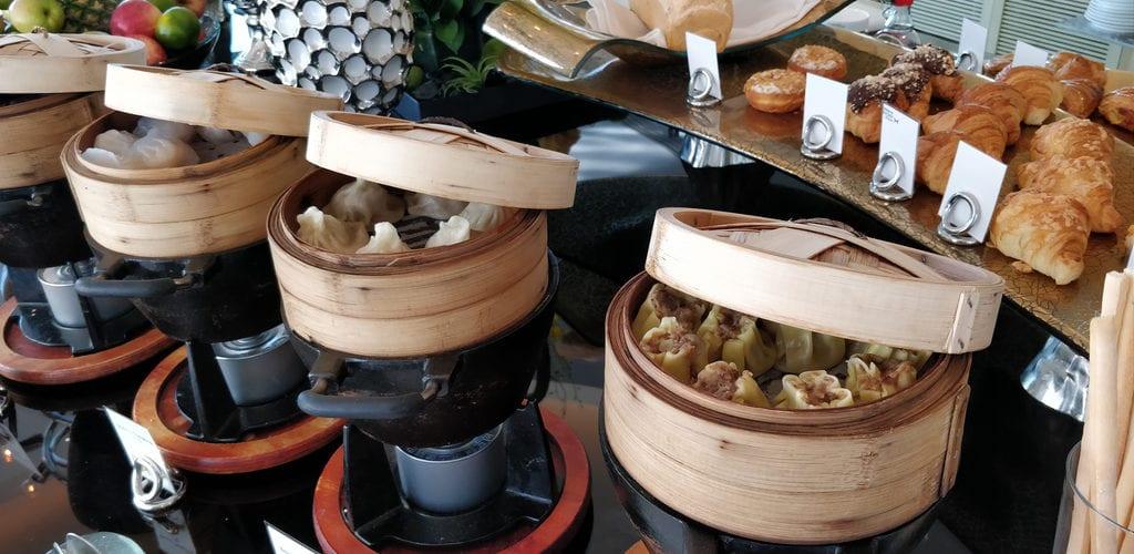 Conrad Peking Executive Lounge Frühstück 5
