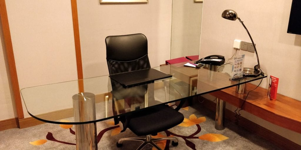 Crowne Plaza Ningbo City Center Deluxe Zimmer 4