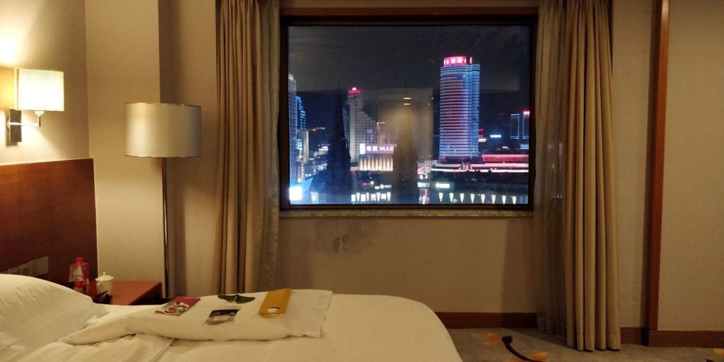 Crowne Plaza Ningbo City Center Deluxe Zimmer 5