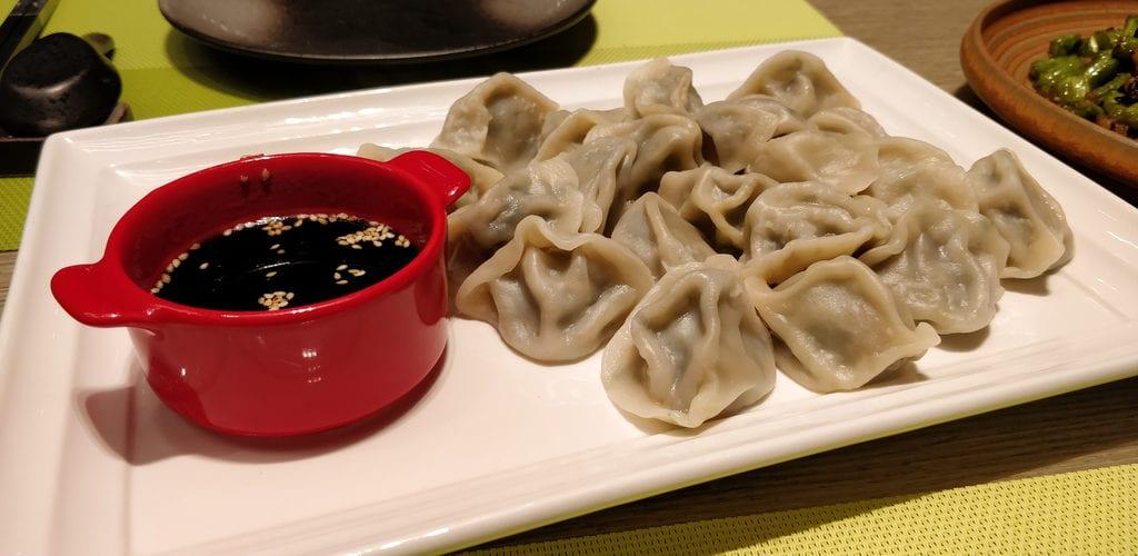 Dhawa Jinshanling Abendessen