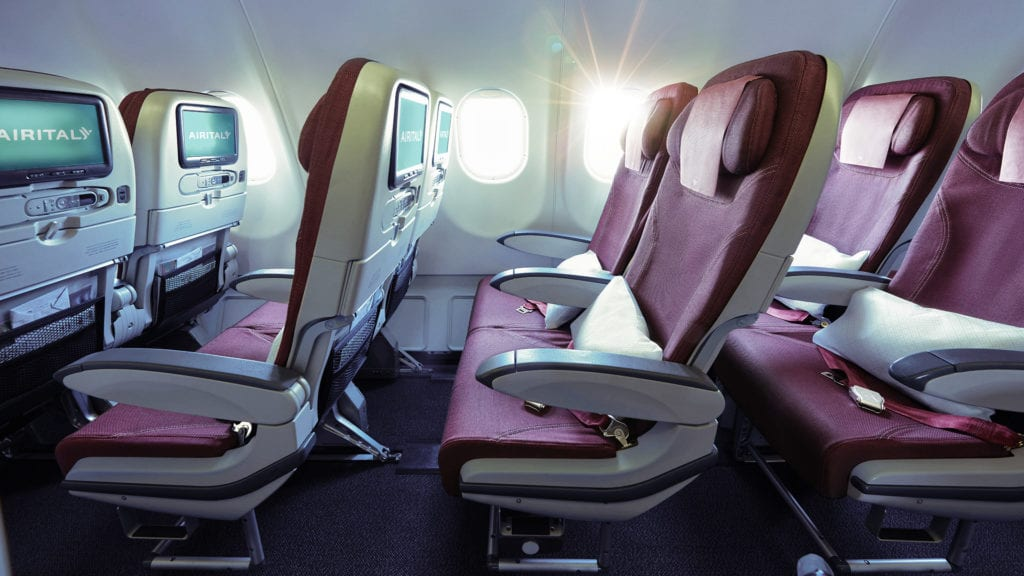 Air Italy Economy Class Cabin