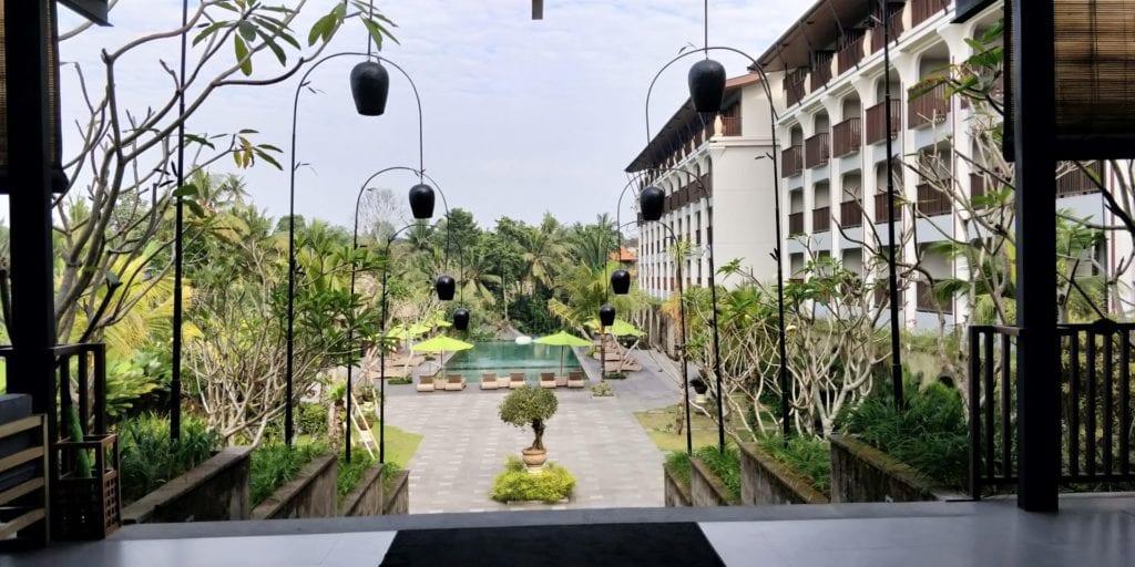 Element By Westin Bali Ubud Frühstück Blick