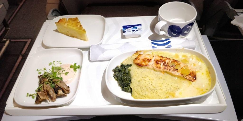 Finnair Business Class Kurzstrecke Essen