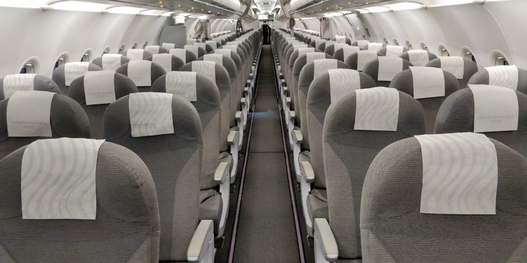 Finnair Business Class Kurzstrecke Sitz
