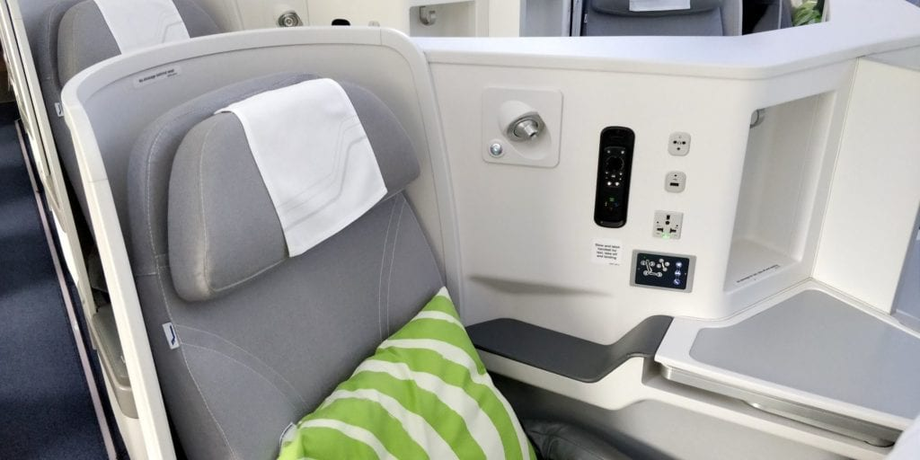 Finnair Business Class Langstrecke Sitz 2