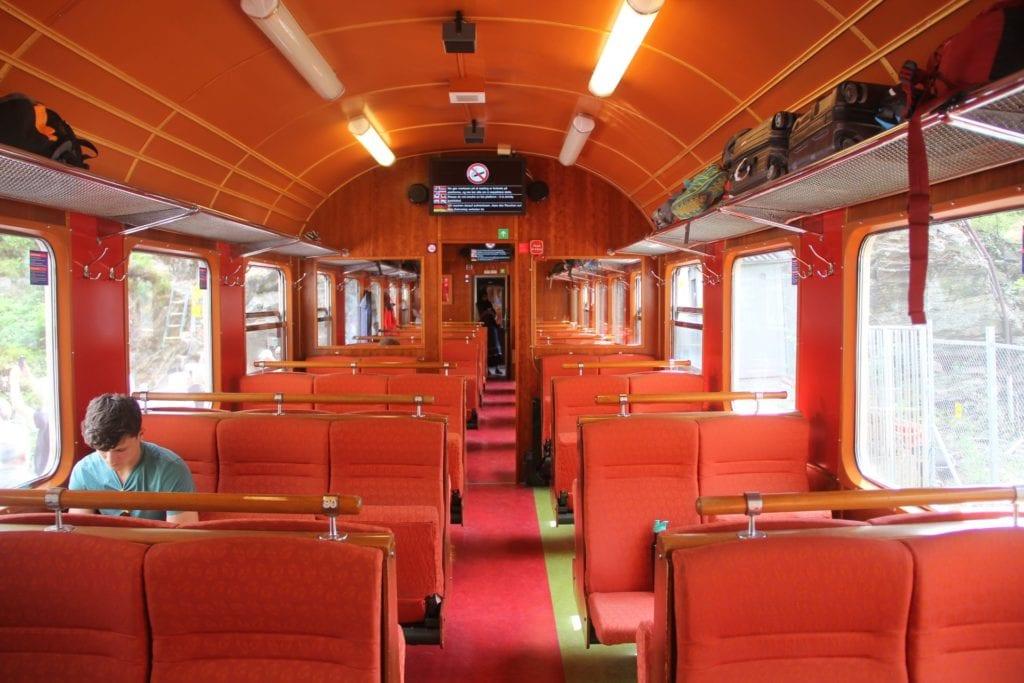 Flambahn Kjosfossen Zug