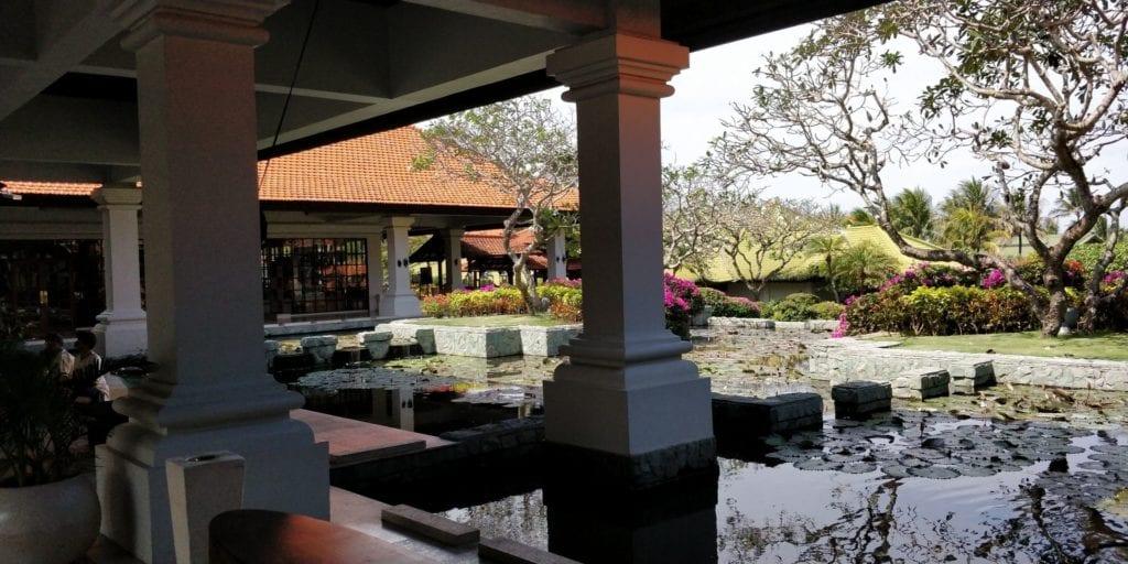 Grand Hyatt Bali Eingang