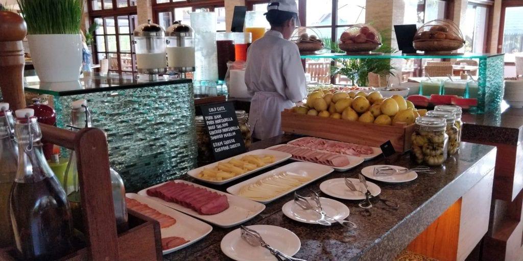 Grand Hyatt Bali Frühstück 1