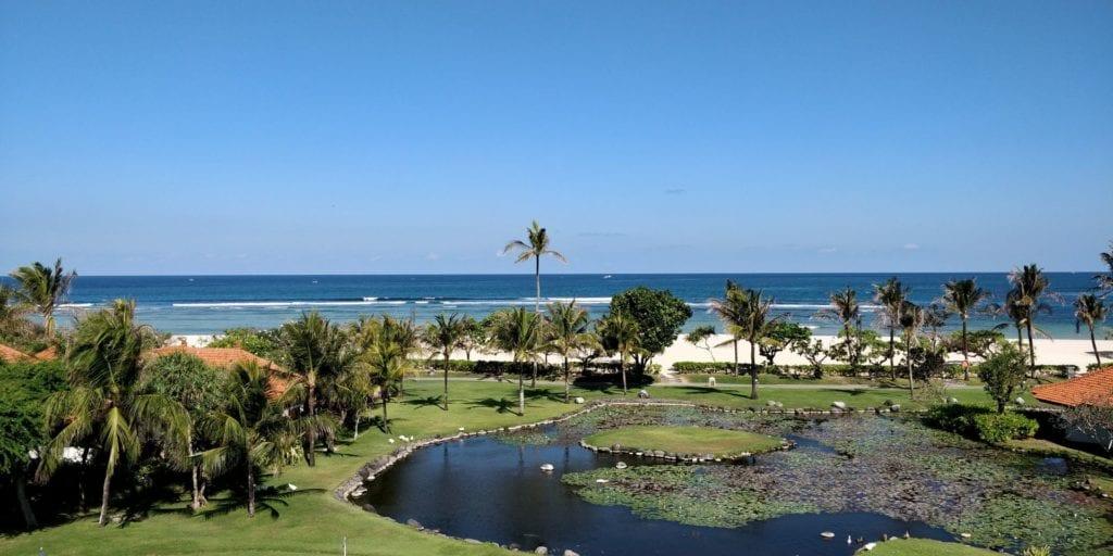 Grand Hyatt Bali Zimmer Ausblick