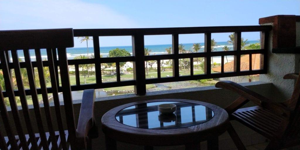 Grand Hyatt Bali Zimmer Balkon