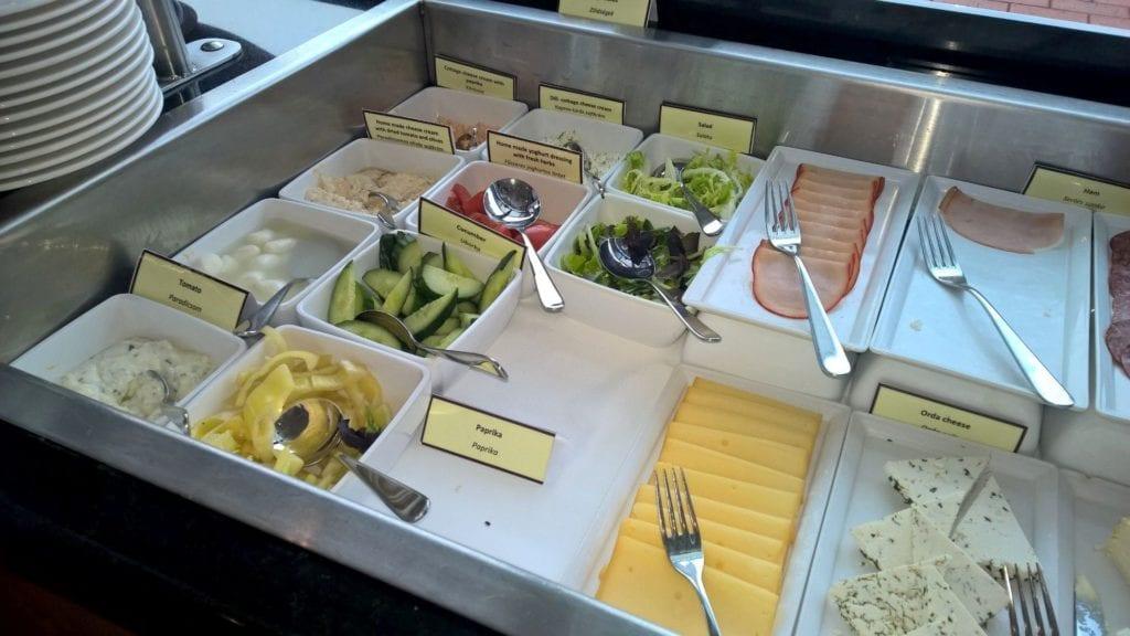 Hilton Budapest City Lounge Frühstück 3