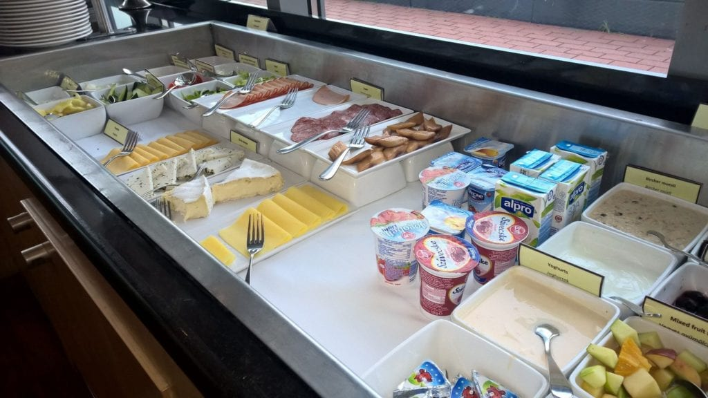 Hilton Budapest City Lounge Frühstück 4
