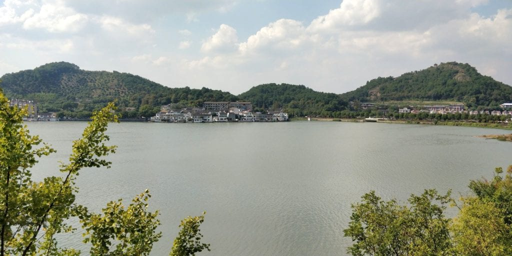 Hilton Ningbo Dongqian Lake Resort Ausblick