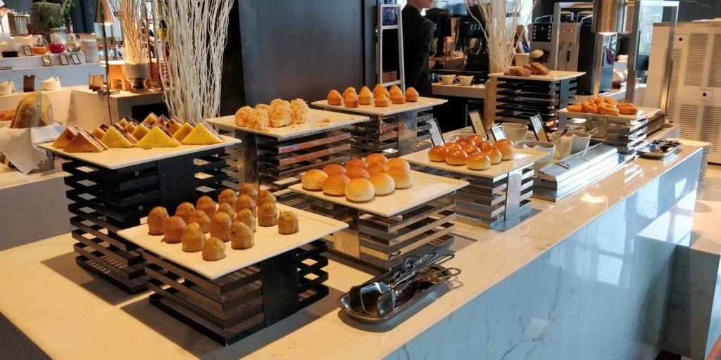 Hilton Ningbo Dongqian Lake Resort Frühstück 4