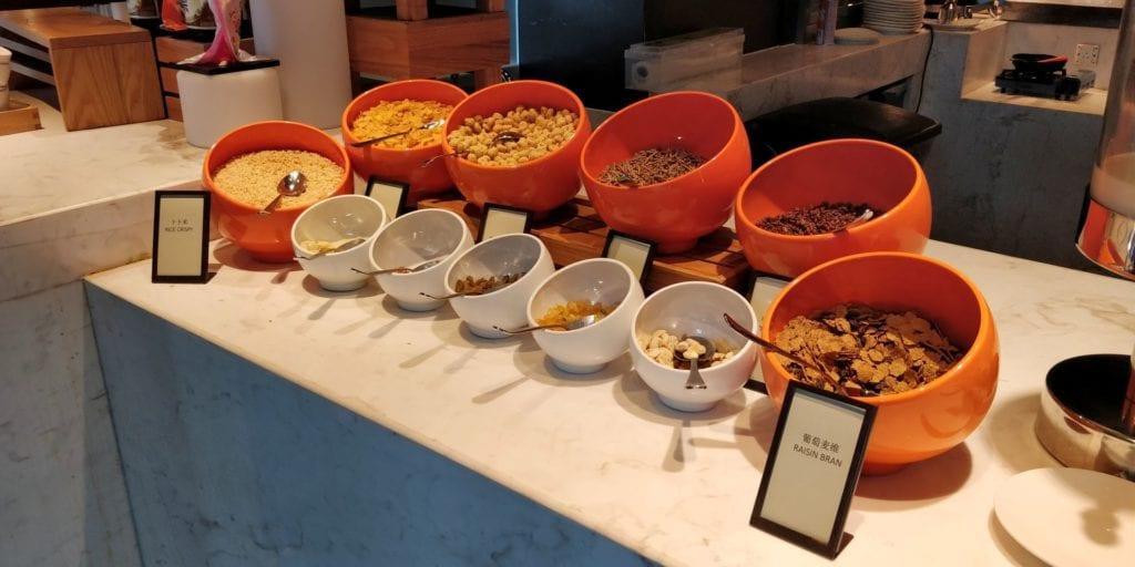Hilton Ningbo Dongqian Lake Resort Frühstück 6