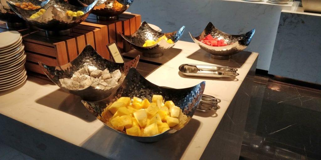 Hilton Ningbo Dongqian Lake Resort Frühstück 9