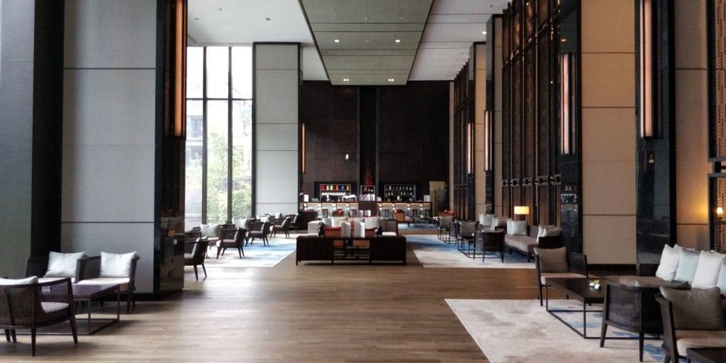 Hilton Ningbo Dongqian Lake Resort Lobby