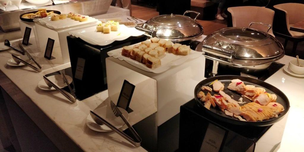 Hilton Ningbo Dongqian Lake Resort Lounge Abendessen