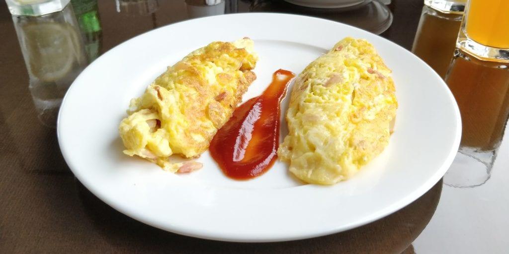 Hilton Ningbo Dongqian Lake Resort Lounge Frühstück 5