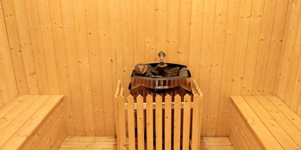 Hilton Ningbo Dongqian Lake Resort Sauna