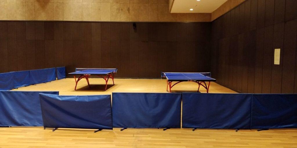 Hilton Ningbo Dongqian Lake Resort Tischtennis