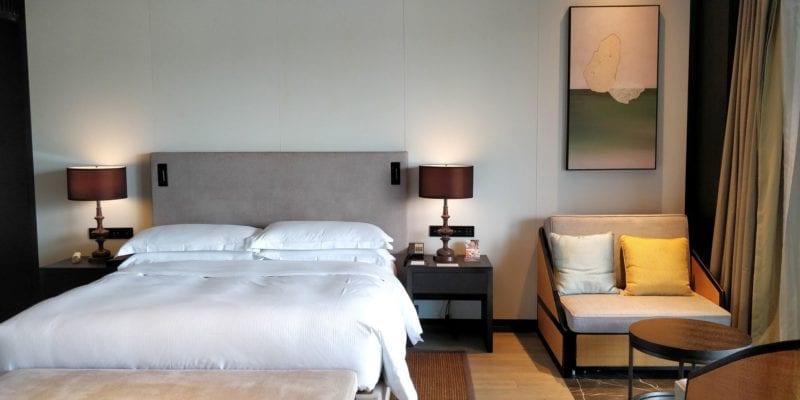 Hilton Ningbo Dongqian Lake Resort Zimmer 2
