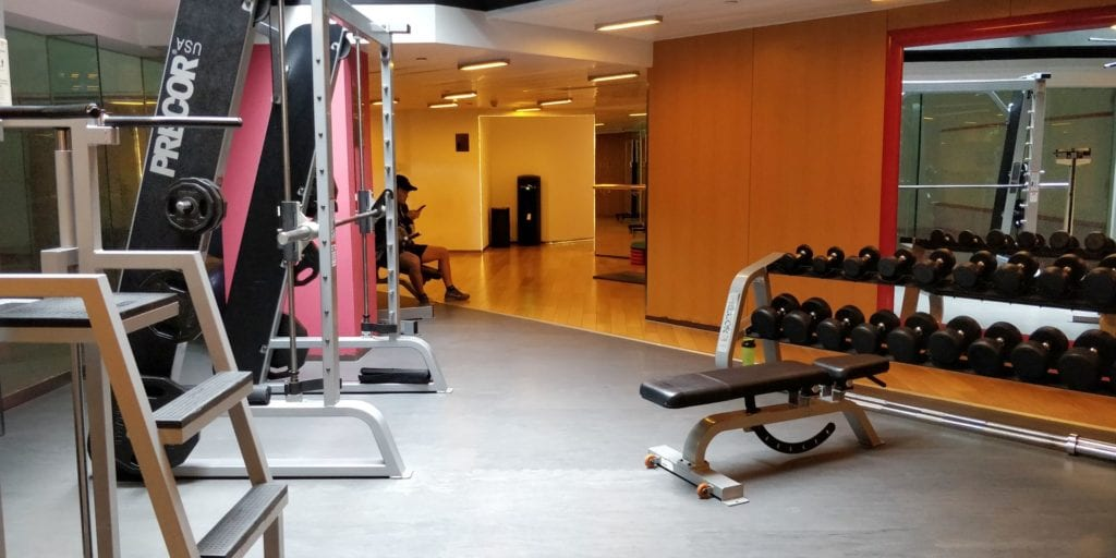 Hilton Peking Fitness 3