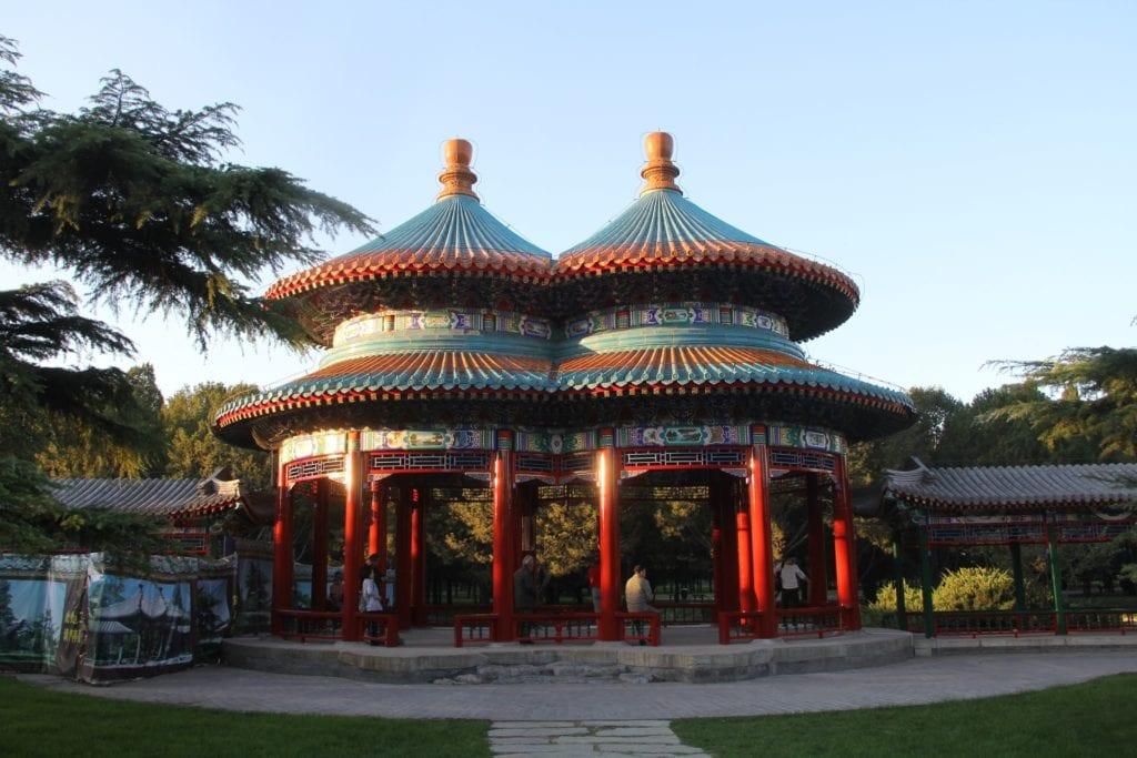 Himmelstempel Wanshou Pavillion Peking