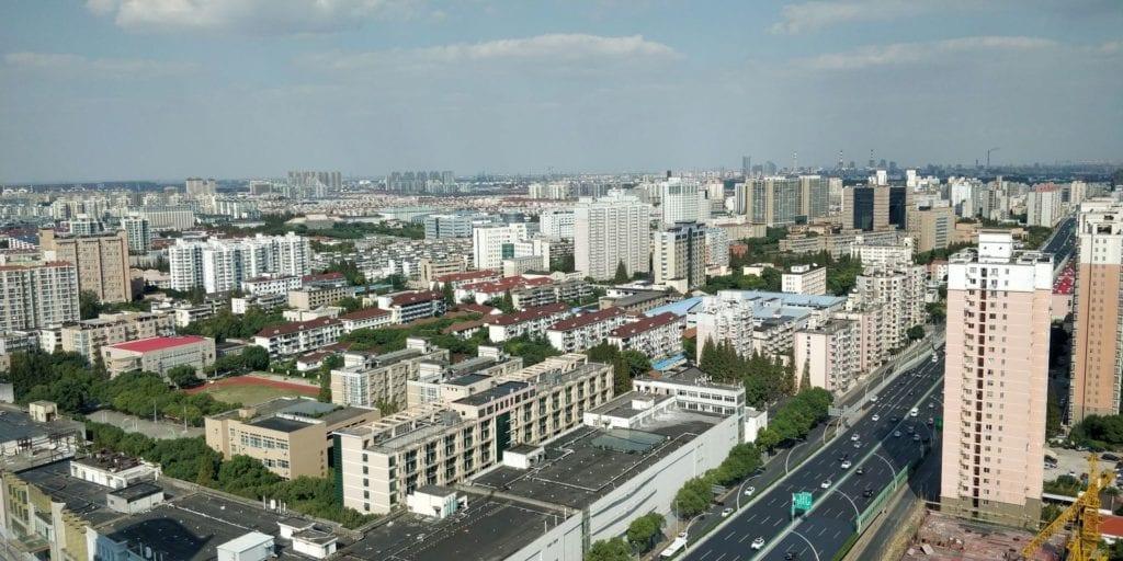 Hyatt Regency Shanghai Wujiaochang Ausblick