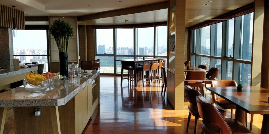 Hyatt Regency Shanghai Wujiaochang Club Lounge