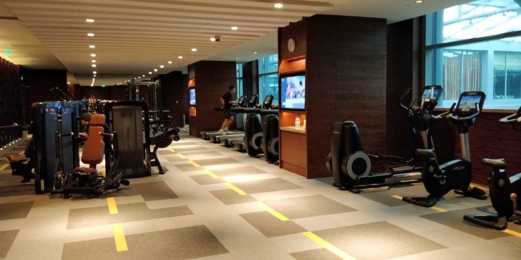 Hyatt Regency Shanghai Wujiaochang Fitness