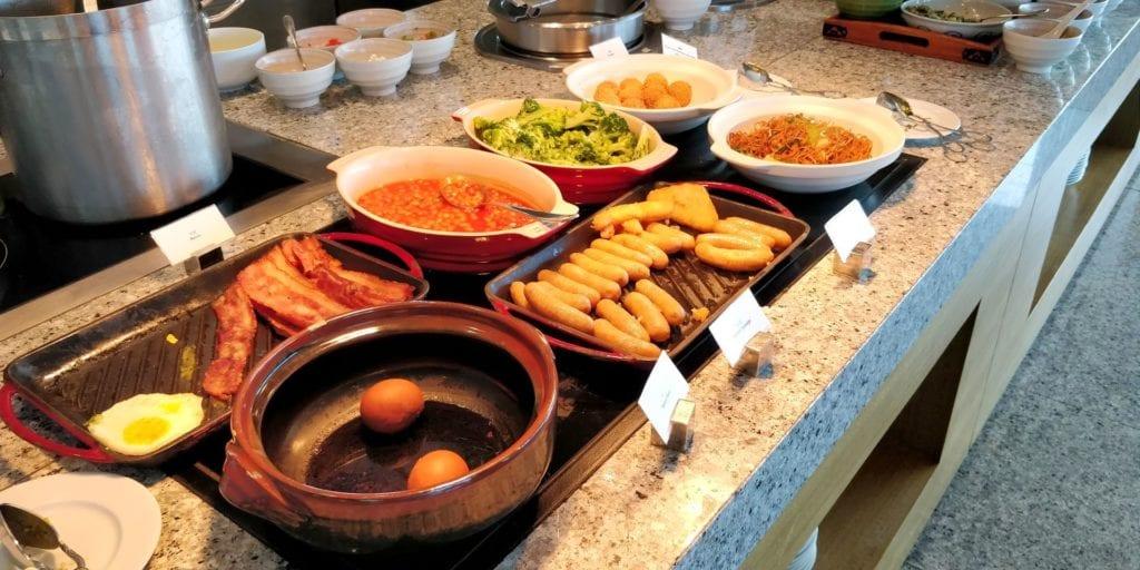 Hyatt Regency Shanghai Wujiaochang Lounge Frühstück 4