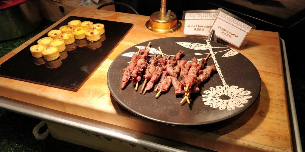 InterContinental Peking Beichen Club Abendessen 7