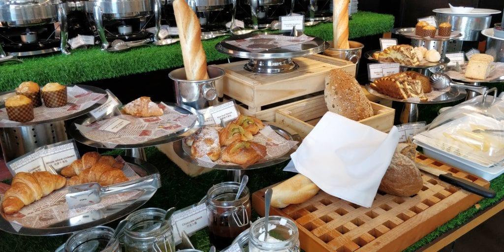 InterContinental Peking Beichen Club Frühstück